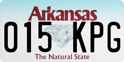 AR license plate 015KPG
