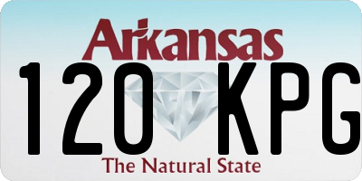 AR license plate 120KPG