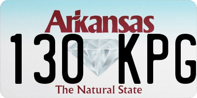 AR license plate 130KPG