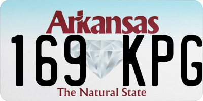 AR license plate 169KPG