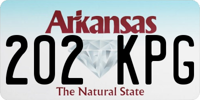 AR license plate 202KPG