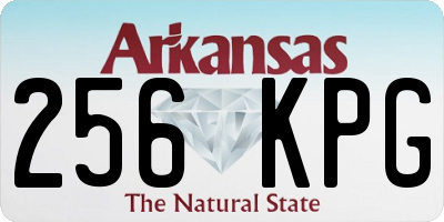 AR license plate 256KPG