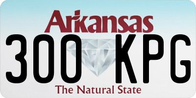 AR license plate 300KPG
