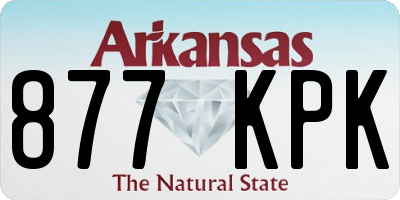 AR license plate 877KPK