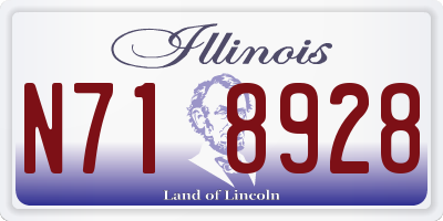 IL license plate N718928