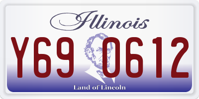 IL license plate Y690612