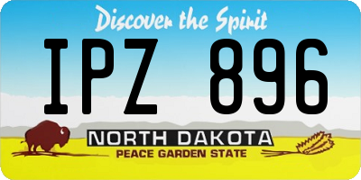 ND license plate IPZ896