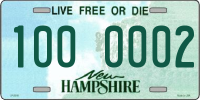 NH license plate 1000002