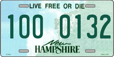 NH license plate 1000132