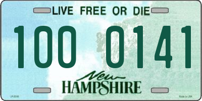 NH license plate 1000141