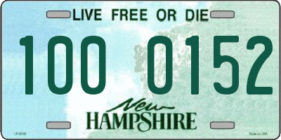 NH license plate 1000152
