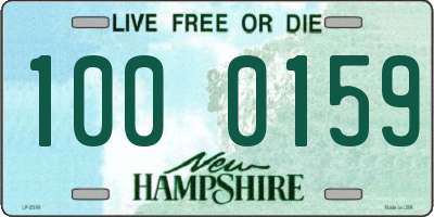 NH license plate 1000159