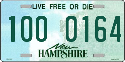 NH license plate 1000164