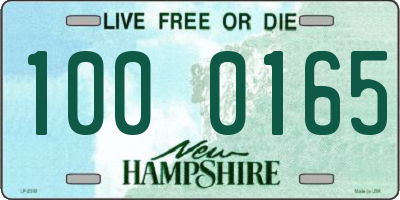 NH license plate 1000165