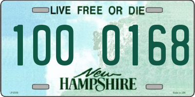 NH license plate 1000168