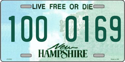 NH license plate 1000169